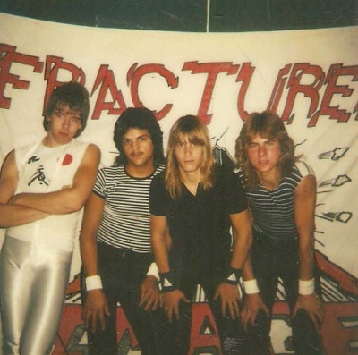 Fractured Image band from Cleveland 1982