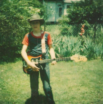 There's no escaping your roots! Gramma Hall's backyard in Kentucky mid 1970's. Sure miss that hat...