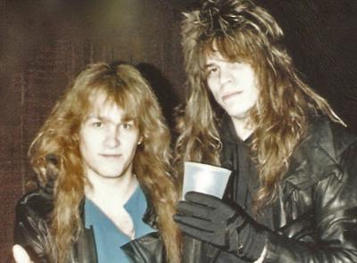 Mark Francis and Dio guitarist Craig Goldy