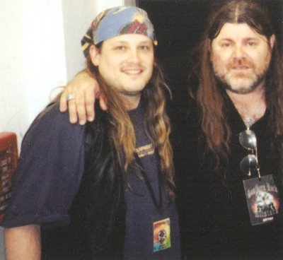 Dave Hlubek and Mark Francis in South Carolina 2003