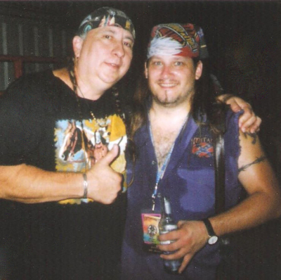 Mark Francis and the late, great Jackson