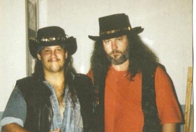 Mark Francis and Randall Hall of Lynyrd Skynyrd