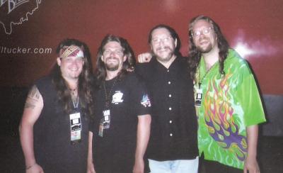Mark Francis and band with Doug Gray of the Marshall Tucker Band