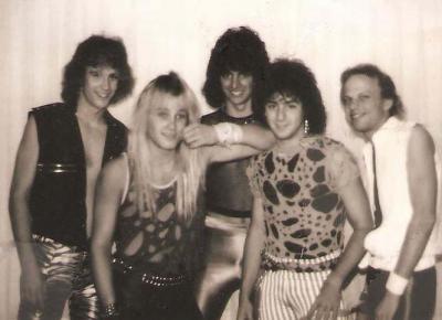 Cleveland heavy metal band Matrixx circa 1985