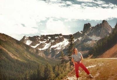 Mark Francis at Mount Girabaldi, British Columbia 1990