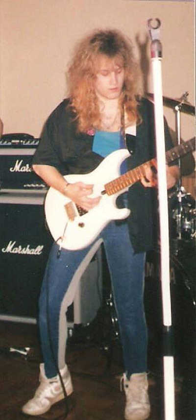 Rehearsels with the 'Snake in 1989... what a great time