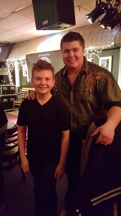 Dakota & Landon Wall-Bluebird Cafe 2016