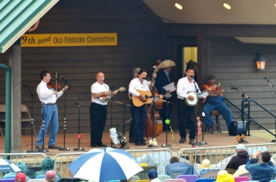 Galax Fiddler's Convention, 4th place winners, 2014