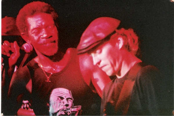 <p>Denny and Luther Allison</p>