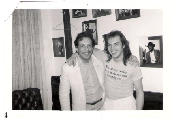 <p>Denny and Jerry Portnoy</p>