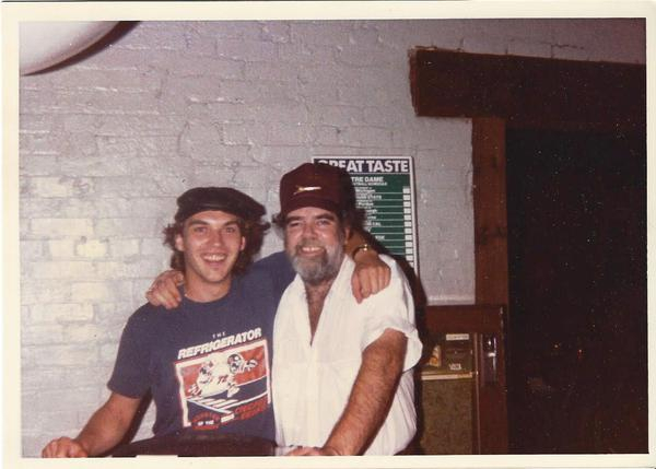 <p>Denny and Lonnie Mack</p>