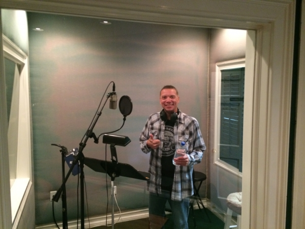 Rodney doing vocals on his album