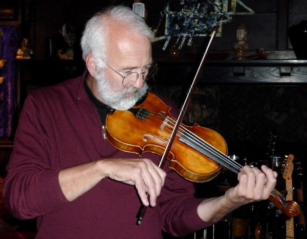 Tony A. fiddlin' around