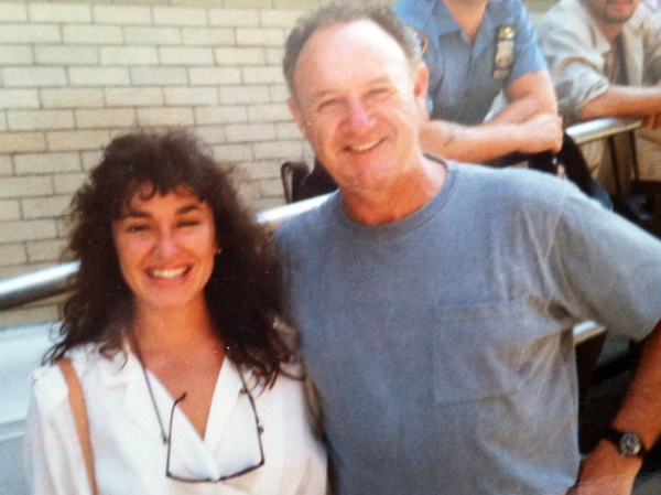 On the set with ActorGene Hackman