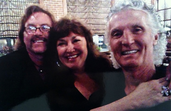 With Grand Funk Railroad (Drummer/Founder) Don Brewer (right) and Terry (GFR Keyboards) 2013