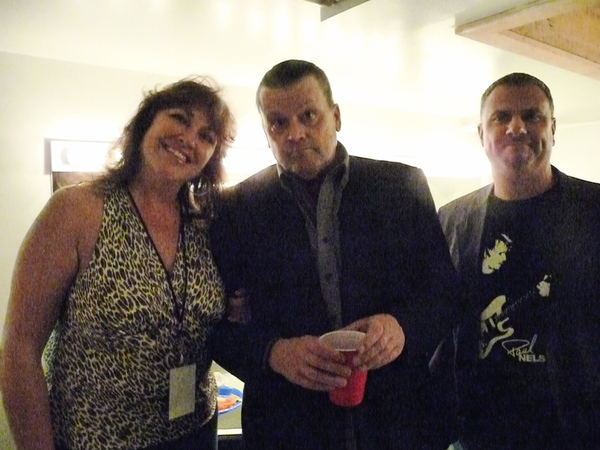 Back stage with J.Geils 2010