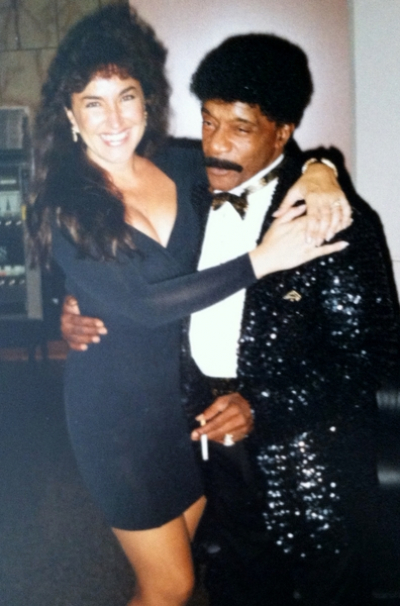 Zan with Herb Reed (Herb Reed & The Platters)