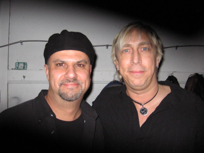 Rick with Paul Nelson (Johnny Winter Band)