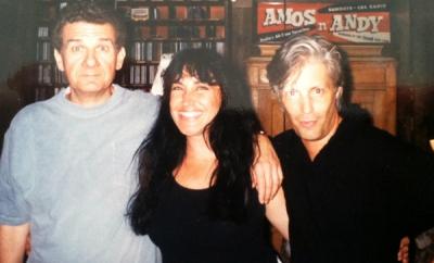 Tommy West (Jim Croce Band), Zan & friend Michael Mugradge (Orleans guitarist)