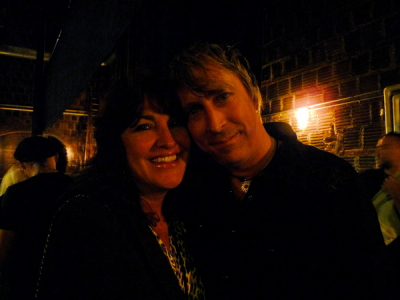 Zan with lifelong friend Paul Nelson