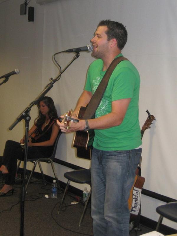 Shaun Ruymen sings from the heart