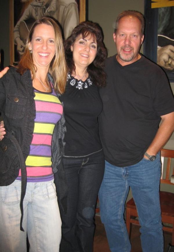 Me, Barbara Harley and Al Lind