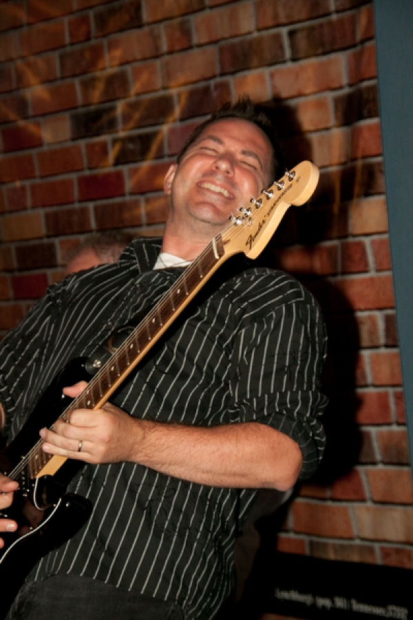 My good buddy Paul Myatovich rocks out on his guitar. Photos by Sheila Norkis of SheilaNorkis.com