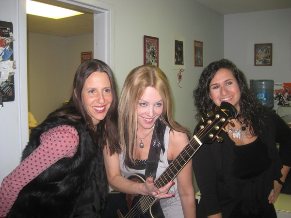 Do I see a chick band in the making... Boobs and Craft.  LOL.