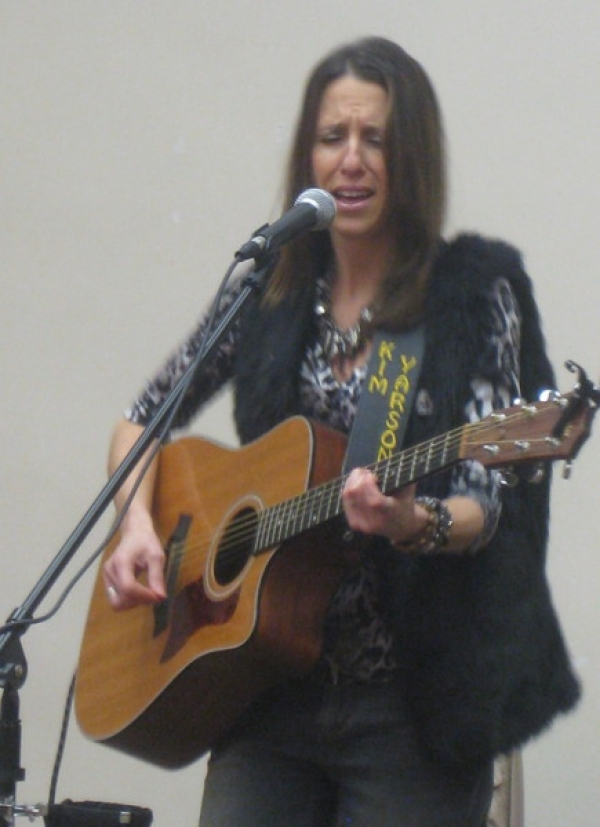 Second songwriters concert at West Deptford library