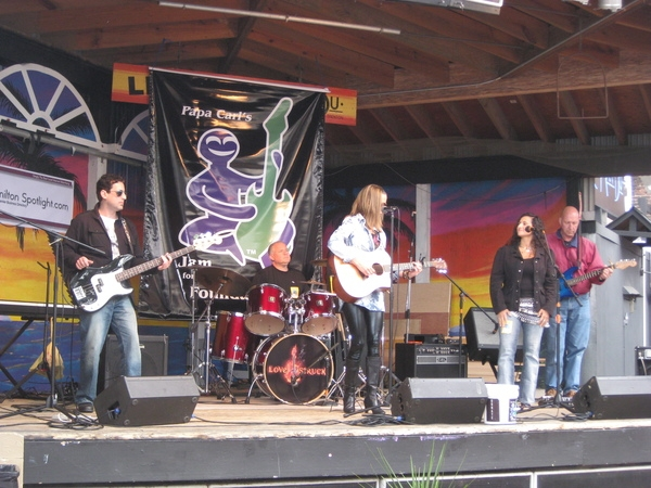 My band the volunteers