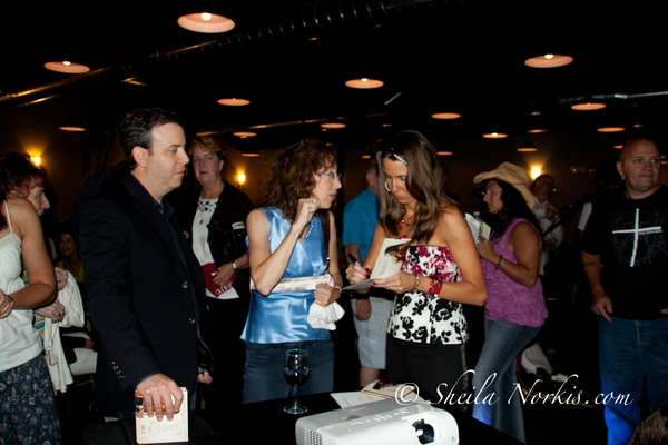 After party fun, signing autographs, something I have to get used to doing but am honored to do so. Photos by Sheila Norkis of SheilaNorkis.com