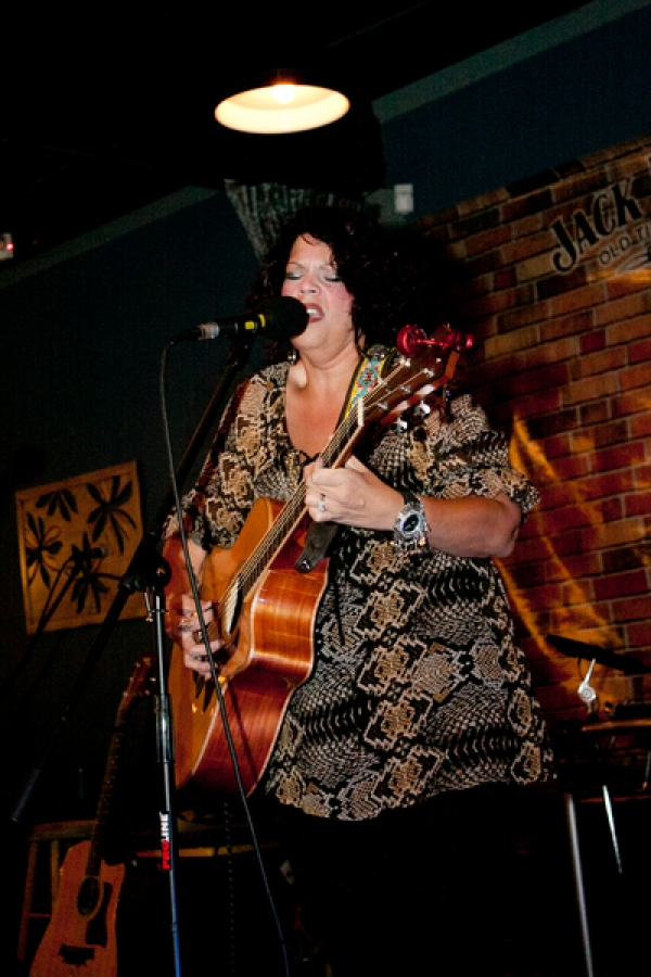 Soul sister, Jo Wymer performs some of her songs off her new CD Photos by Sheila Norkis of SheilaNorkis.com