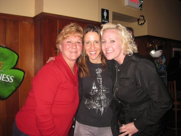 Adele, me and Lauren I'll be back soon to Pete's!