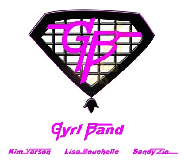 I joined a new super group called Gyrl Band featuring myself and the talented Lisa Bouchelle and Sandy Zio.   Like our facebook page www.facebook.com/gyrlband