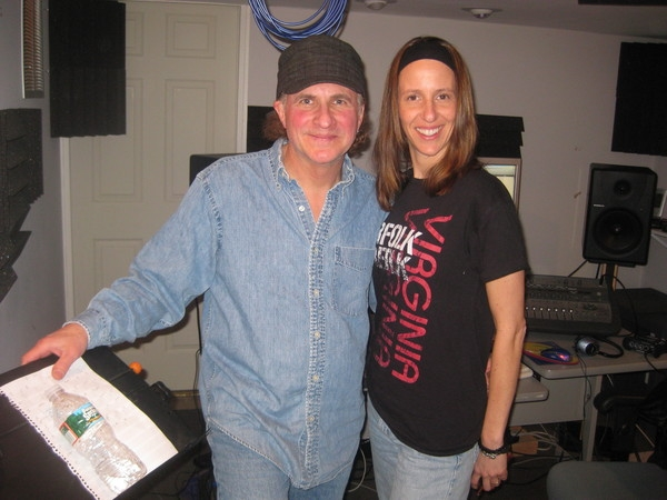 March 2011: Ernie White in studio to add color and leads to Follow Me Back off of Thankful
