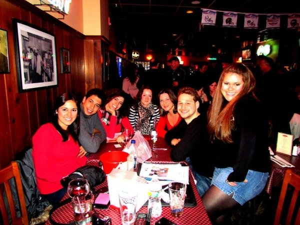 The table of Brazilians that rocked Pete's during my set, and Randy!  Thanks for your support.