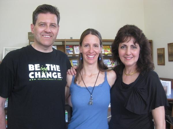 Arlon Bennet, me and Barbara Harley honored to play Bound Brook again.   We'll be back soon!