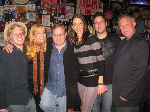 November 2011: The Saint with me and my friends Todd, Carol, Al-Vis, me, Mike and Dan