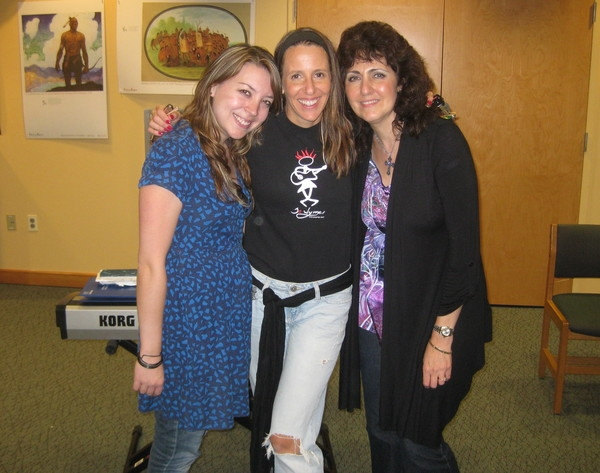 September 2011: Jerzy Jung, me and Barbara Harley do Somerville Public Library Songwriters in the Round