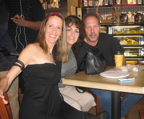Me, Barbara Harley and Al Lind my long time co-writers and friends.