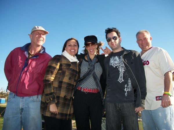 Kim Yarson and the Volunteers at Fall Festival Gary Jakubicki, Marisha Jakubicki, me, Mike Thompson and Danny Coleman