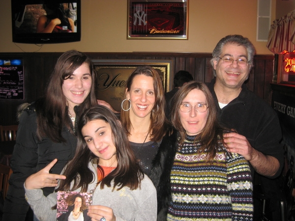 Gino DiPierro of HamiltonRadio.net and his family.  Thanks for your support!