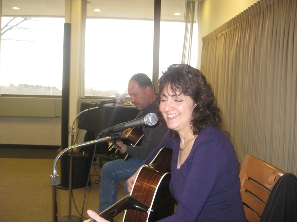 March 2011: Songwriters in Round in Flemington with Barbara Harley and Al Lind my long time co-writers