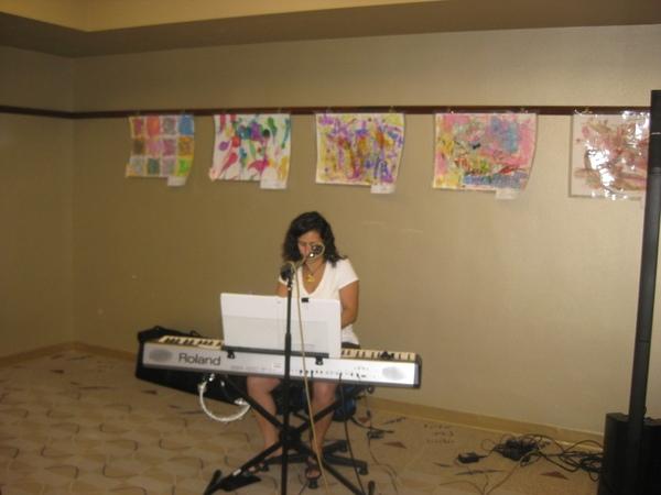 Sandy Zio  shares an original from her debut CD