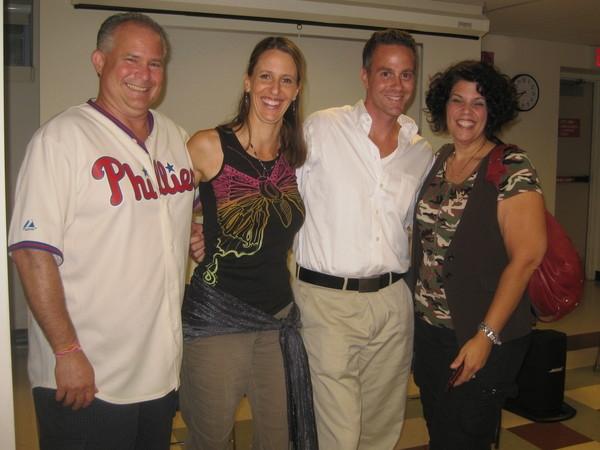 Danny Coleman, me, Domenick Carino, and Jo Wymer