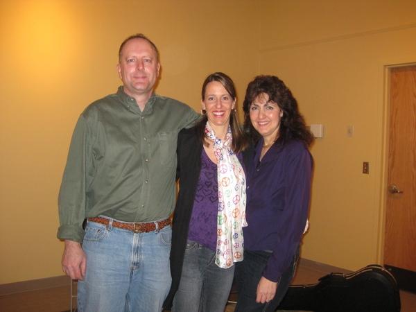 Joe Iantosca, myself and Barbara Harley!  We will be back soon.