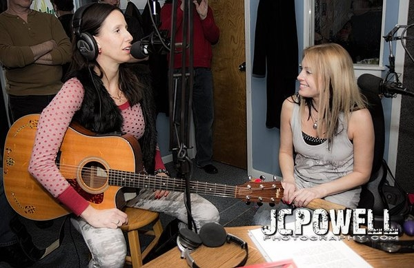 Lisa Bouchelle helps me out with my song Manhattan.