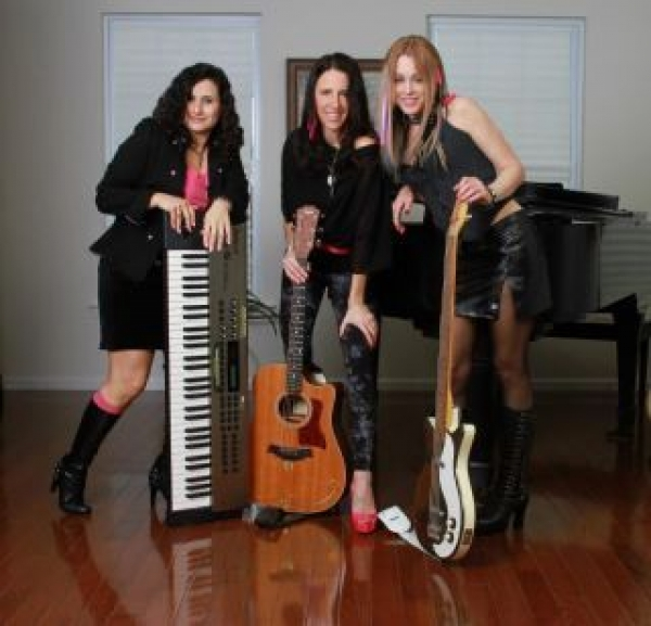 Sandy Zio, Me and Lisa Bouchelle Photo by Papa Carl