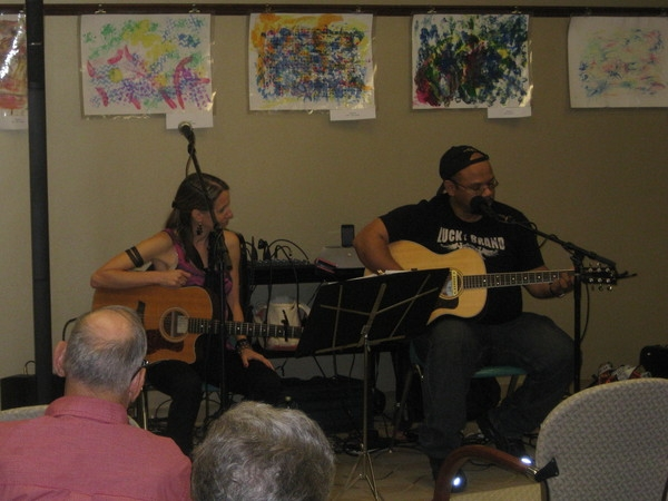 Norman Taylor shares a song from Monmouth County Library Songwriters in the Round