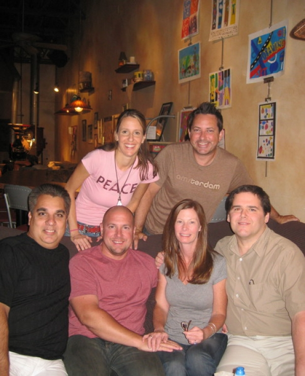 Friends of ours came out to enjoy the show. Kim, Paul, Anthony, Rick and Melissa and Kevin. Thanks for coming out!